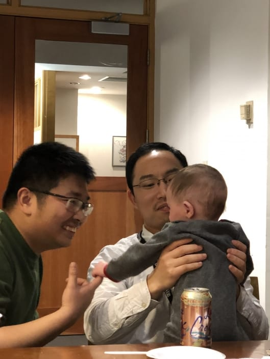 Xie, Tom and Jack