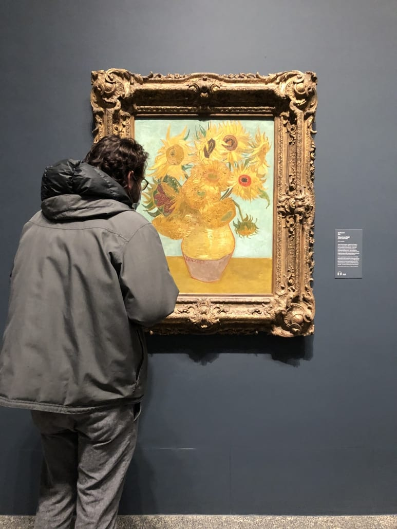 nate and his favorite painting!