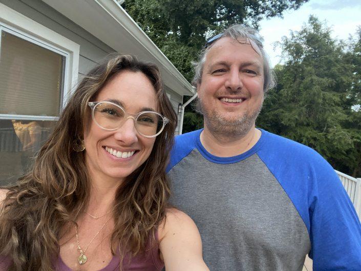 Megan and Matt !